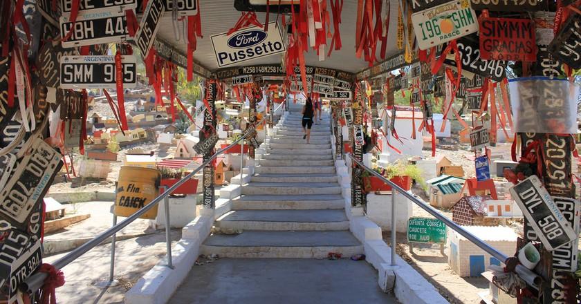 The crazy shrine to La Difunta Correa in San Juan, Argentina   © Javier Romero/Flickr