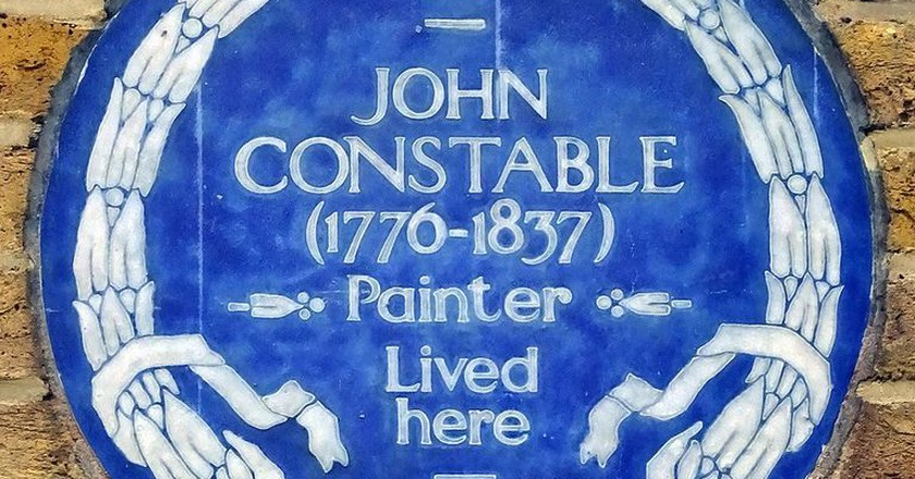 John Constables Blue Plaque | by Spudgun67