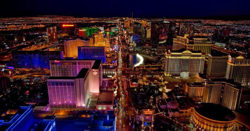Las Vegas at night | © tpsdave / Pixabay