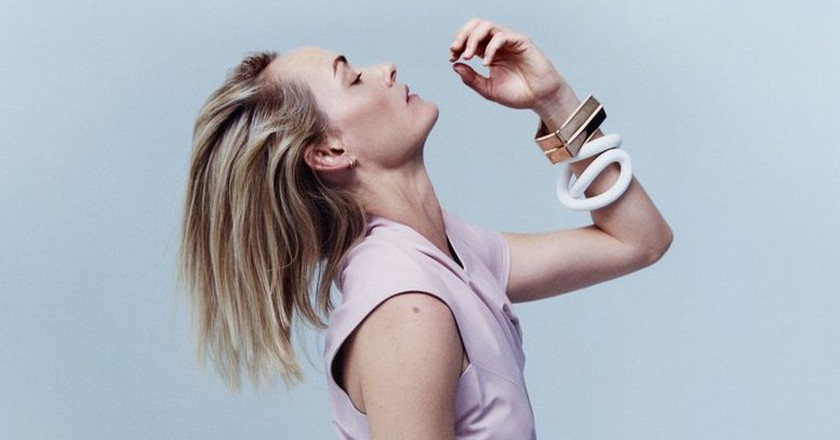 """Amber Valetta in Proenza Schouler's """"A Film For Planned Parenthood of New York City"""" Photographed by Harley Weir"""