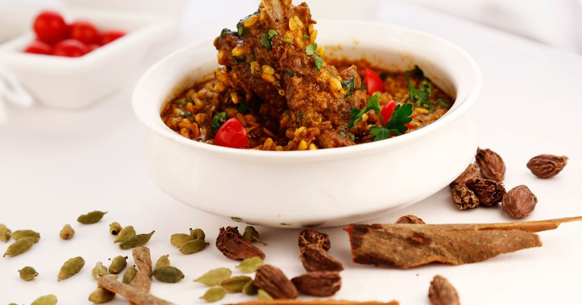 Mughlai Food at The Embassy Restaurant  © embassyrestaurant.in