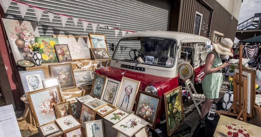© The Vauxhall Art Car Boot fair