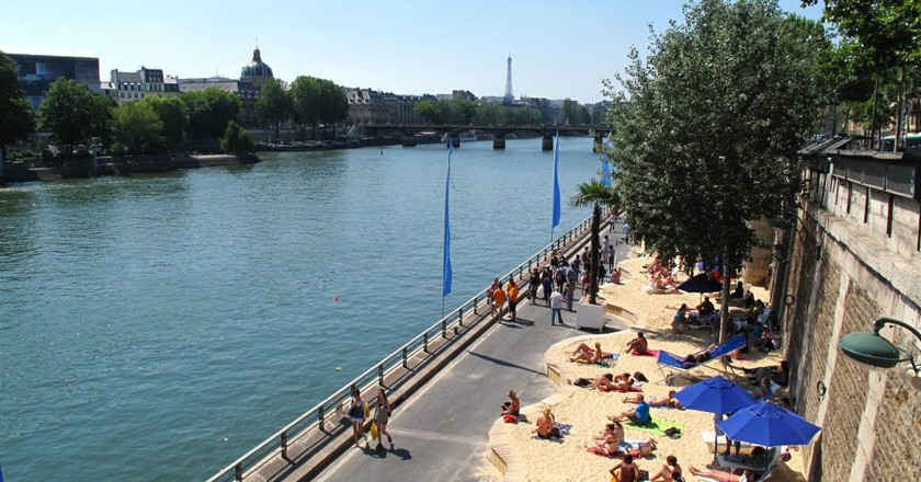 Paris Plages │© Ken Eckert / Wikimedia Commons