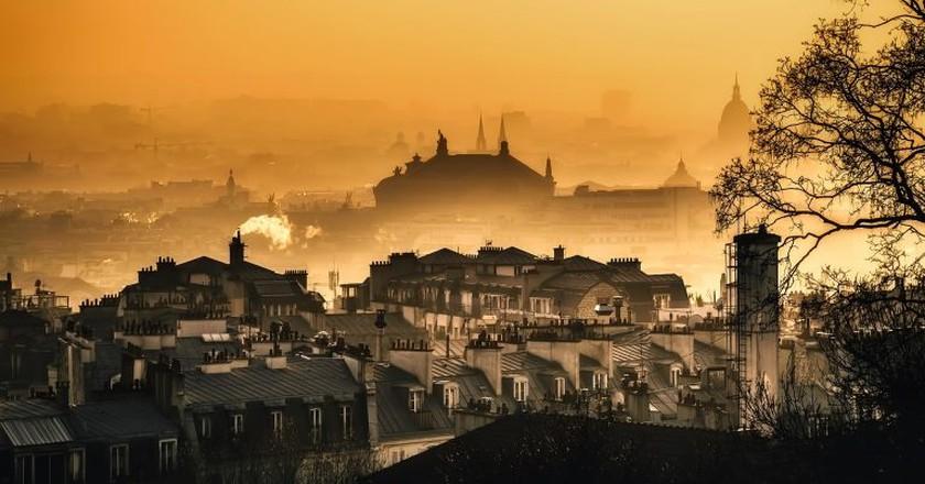 Paris, sunrise │© tpsdave / Pixabay