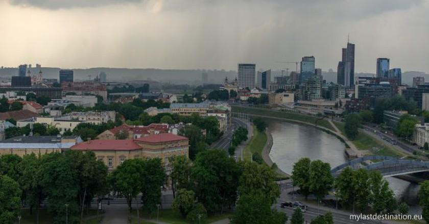 Rain in Vilnius | © Guillaume Speurt / Flickr