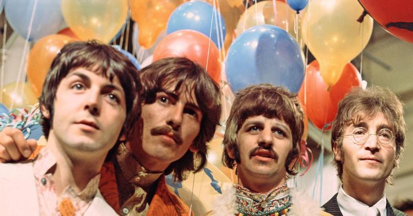 The Beatles © David Magnus/REX/Shutterstock