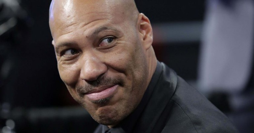 LaVar isn't afraid to speak his mind. | © Jason Szenes/EPA/REX/Shutterstock