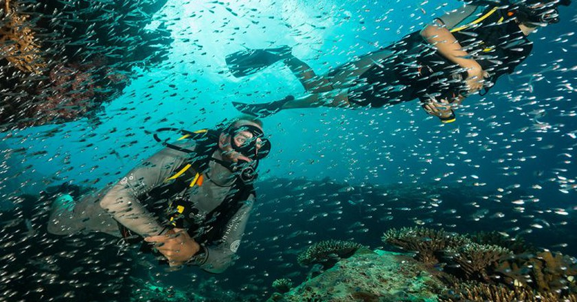 Scuba Diving at the exclusive North Island Resort | Courtesy of North Island Resort