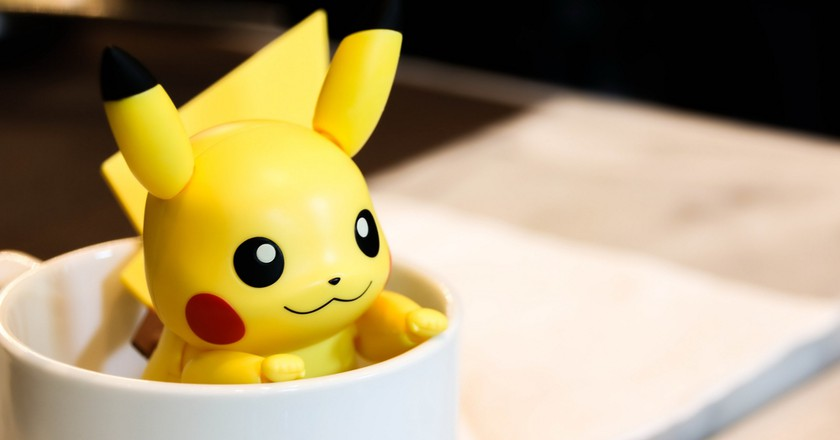 Pikachu in a cup   © small1 / Shutterstock