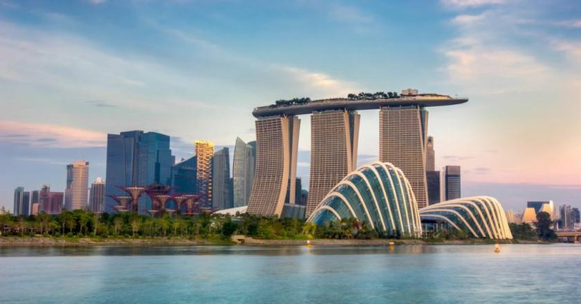 Landscape of the Singapore financial district   © anekoho / Shutterstock