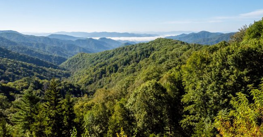Great Smoky Mountains National Park   © dconvertini / Flickr