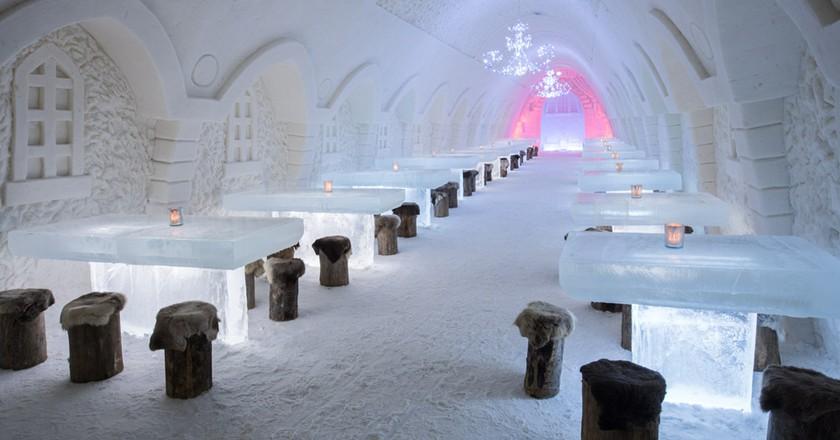 The Snow Restaurant from 2016 | © Visit Kemi Tourist Board