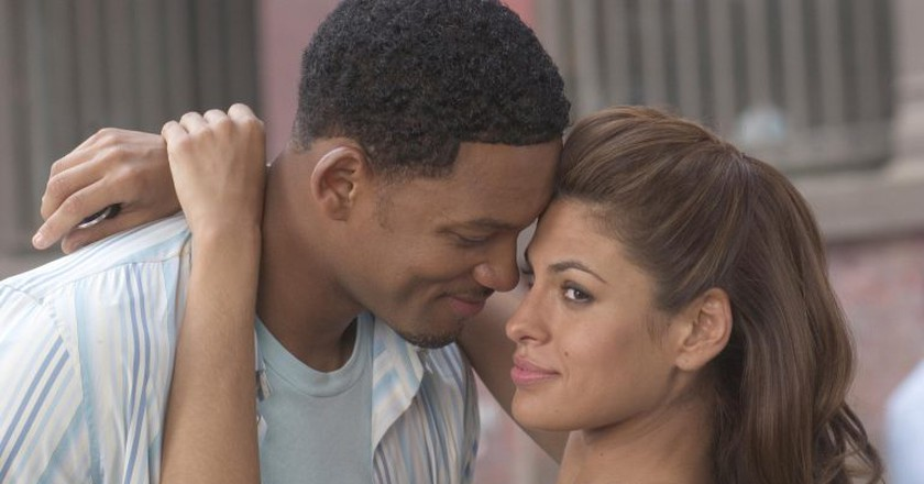 Will Smith and Eve Mendes in Hitch © Sony Pictures
