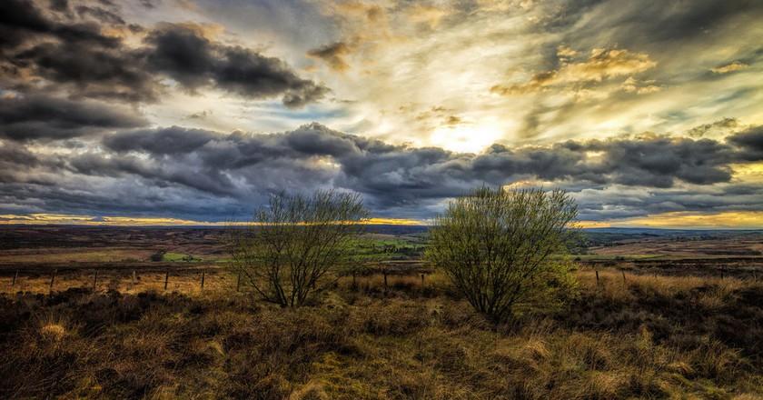 Sunset on the Yorkshire Moors   © Darren Flinders/Flickr