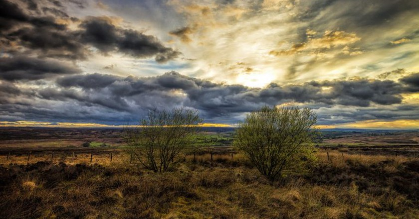 Sunset on the Yorkshire Moors | © Darren Flinders/Flickr