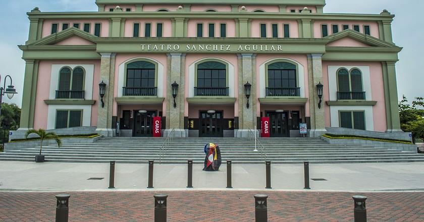 Teatro Sanchez Aguilar, Guayaquil | © LocoWiki / WikiCommons