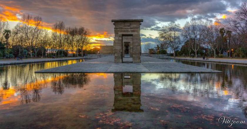 Madrid's Templo de Debod | © Victor Rivera/Flickr