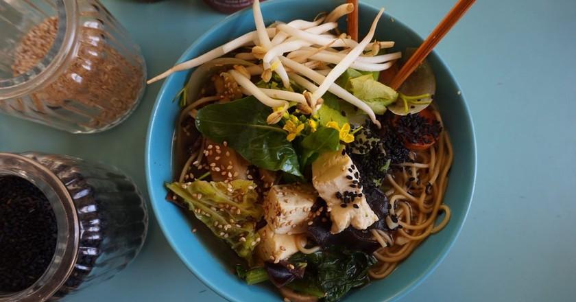 Vegan Tofu Noodle Soup | © Mittmac/Pixabay