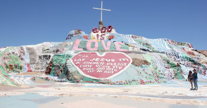 Salvation Mountain | © Courtesy of Salvation Mountain