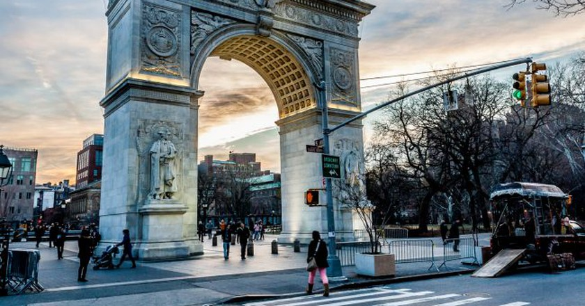 Washington Square Park | © Nicholas Santasier/Pexels