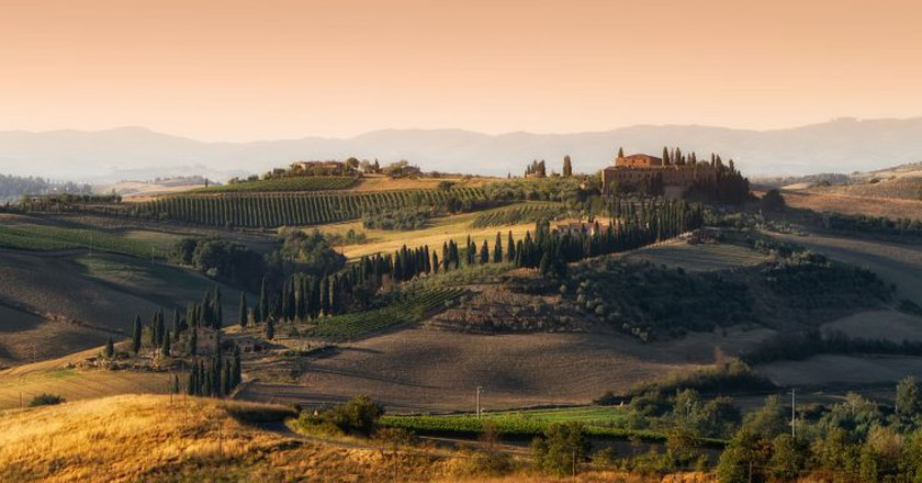 Val d'Orcia  ©Tommy Clark/Flickr