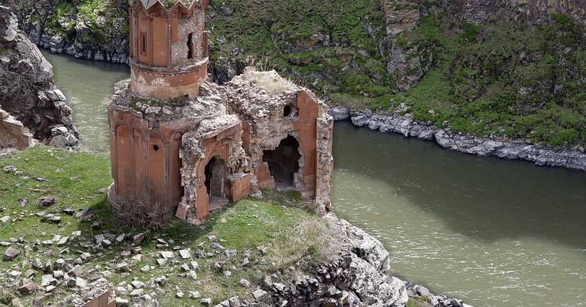 Monastery of the Hripsimian Virgins, Ani, Turkey | © Ggia / WikiCommons