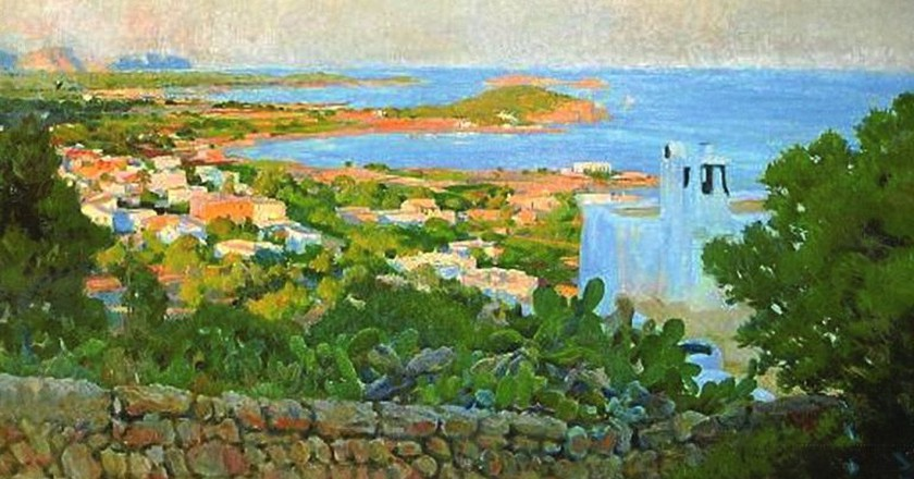 View of Santa Eulalia by Rigoberto Soler