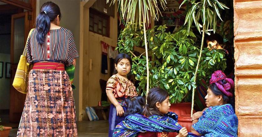 Mayan children | © Apancak / Flickr