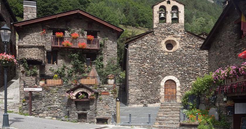 Sant Serní de Llorts, Ordino, Andorra | © Luis Miguel Bugallo Sánchez (Lmbuga) / WikiCommons
