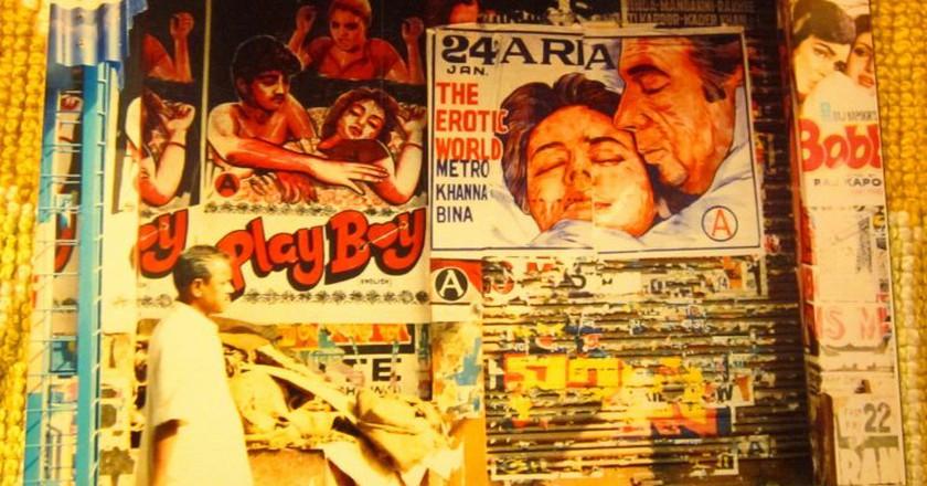 Bollywood film posters | © moreska/flickr