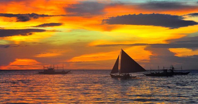 Boracay sunset | © Christian Manalo/Flickr