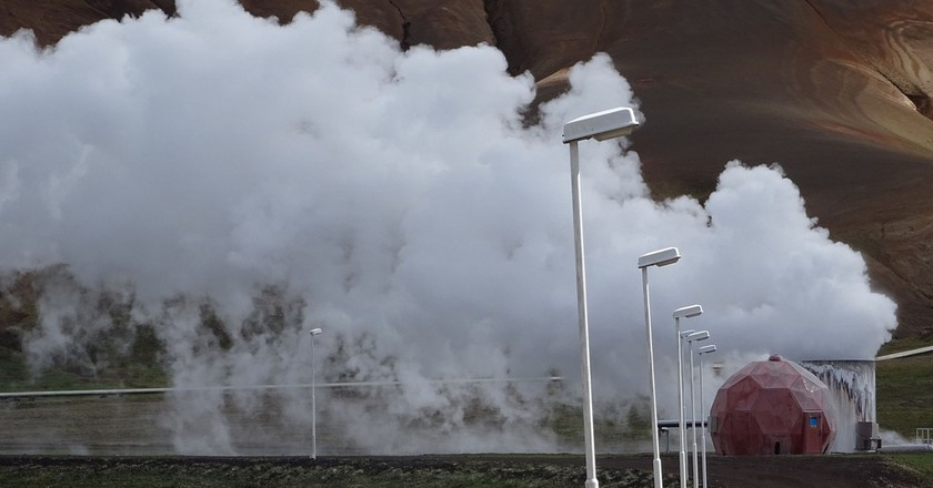 Krafla geothermal plant | © Flickr/VillageHero