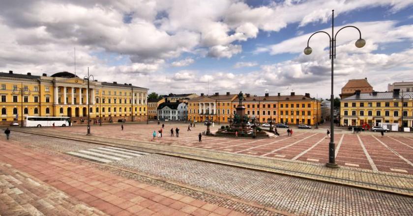 Helsinki Senate Square / Miguel Virkkunen Carvalho / Flickr