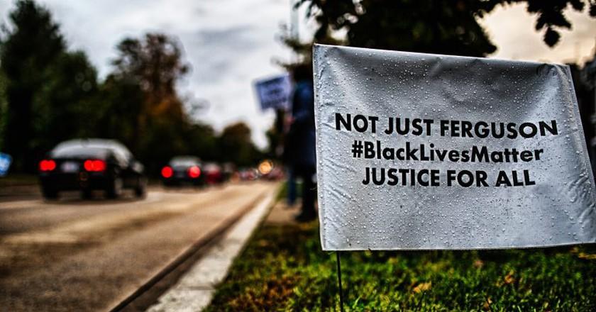 Black Lives Matter sign | © Johnny Silvercloud
