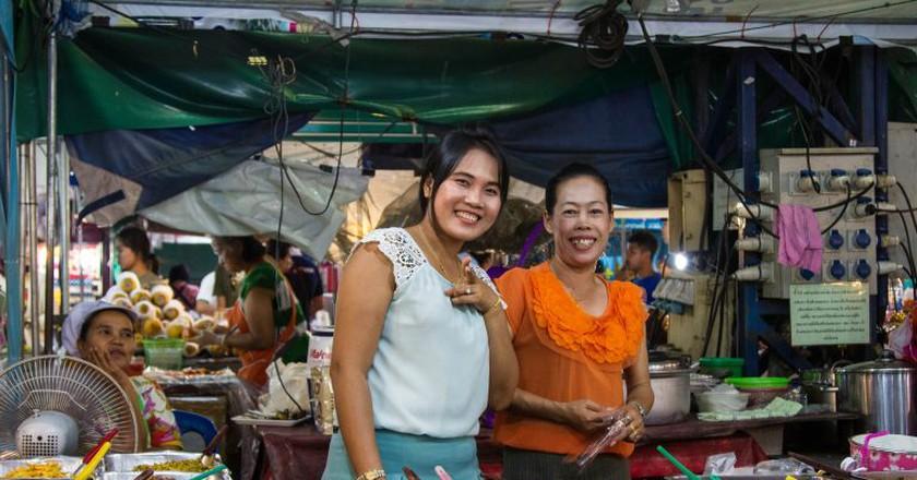 Happy Thai ladies | © Johan Fantenberg / Flick