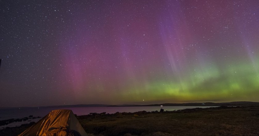 Here Are the Best Places to See the Northern Lights in Scotland