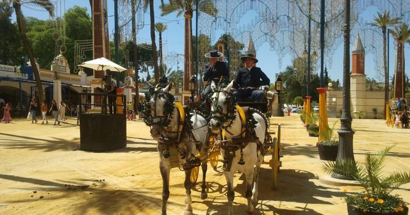 The Feria del Caballo in Jerez; Mark Nayler