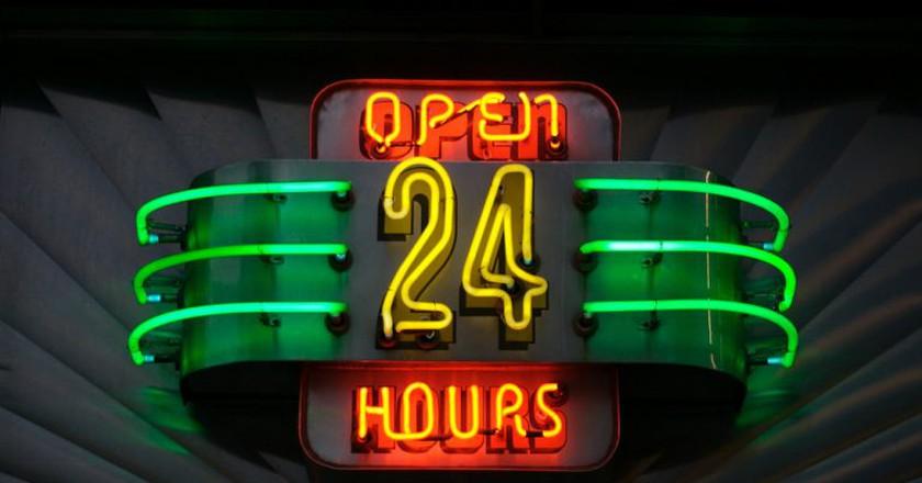Open all hours   © Marcin Wichary / Flickr