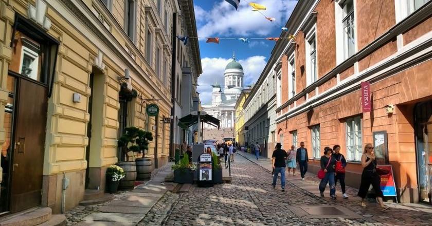 Helsinki street / Timo Newton-Syms / Flickr