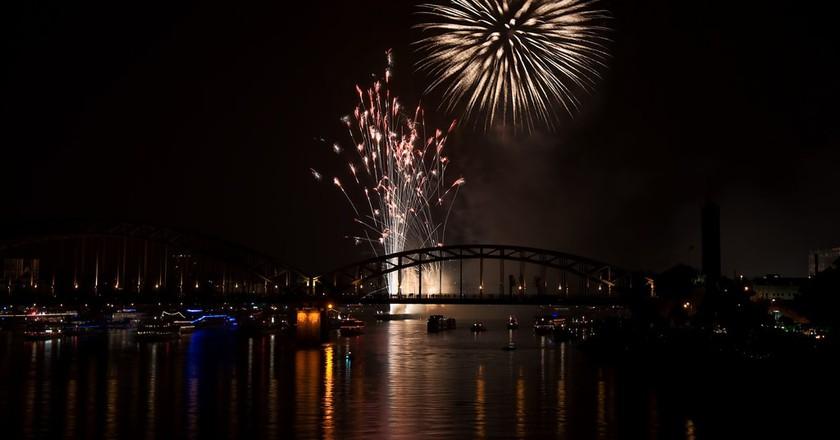 Kölner Lichter fireworks | © Fabian Vervelde/Flickr