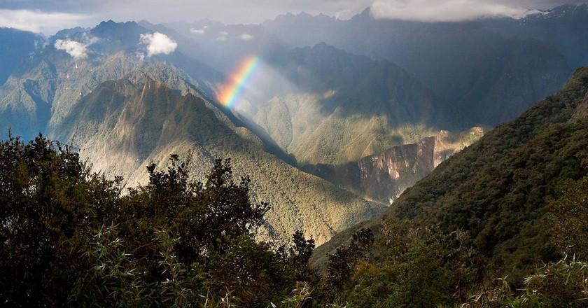Rainbow over the Sacred Valley | © Jae/Flickr