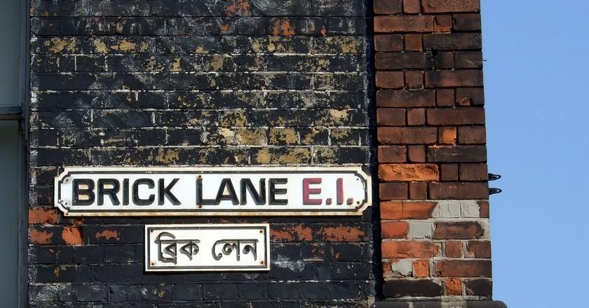 Brick Lane street signs   © James Cridland/Flickr