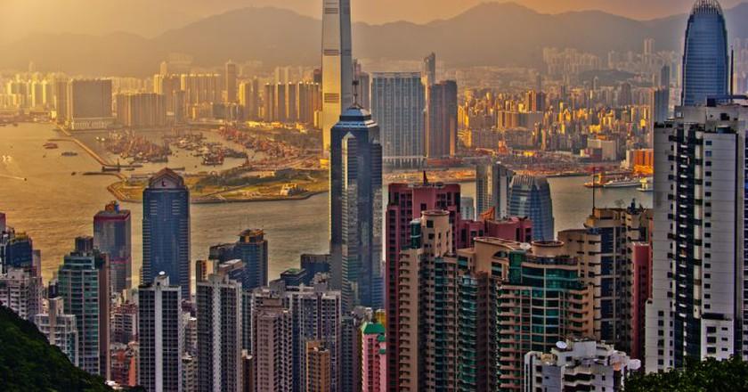 Hong Kong sunset | © Mike Behnken/Flickr
