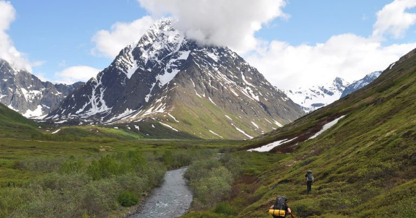 Chugach Mountains | © Paxson Woelber/Flickr
