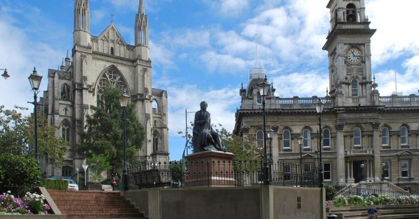Statue of Robert Burns, Dunedin   © Matt/Flickr