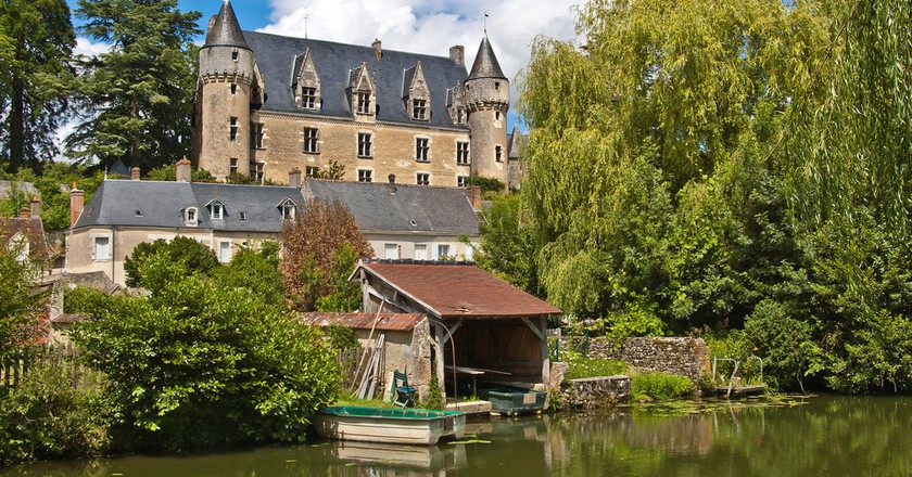 Château de Montrésor as seen from the River Indre. Montrésor is one of the 'Most Beautiful Villages of France' | © Daniel Jolivet/Shutterstock