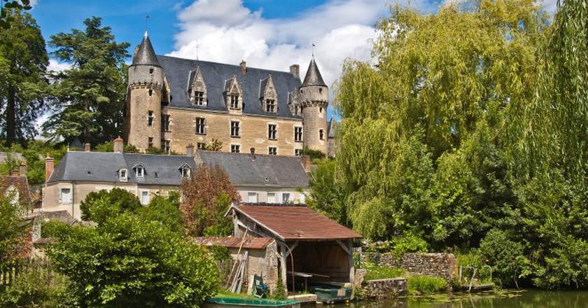 Château de Montrésor as seen from the River Indre. Montrésor is one of the 'Most Beautiful Villages of France' | © Daniel Jolivet/Shutterstock