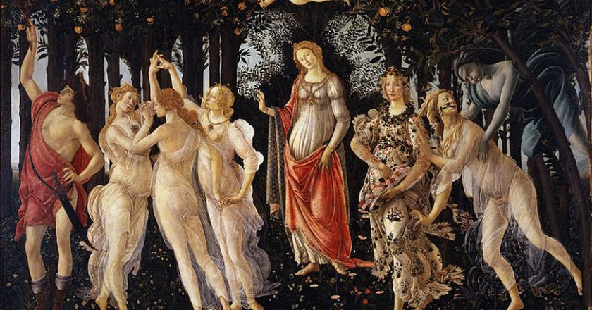 La Primavera Botticelli  ©WikiCommons