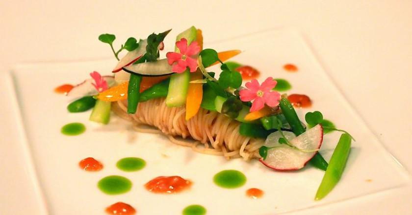 Vegetarian Plate| ©Farrukh/Flickr