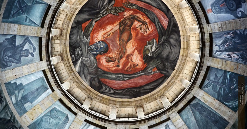'Man in Flames' mural in Guadalajara | © Armando Aguayo Rivera / Flickr